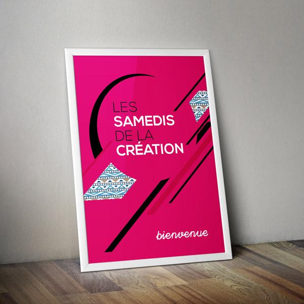 AFFICHE - Les Samedis de la Création