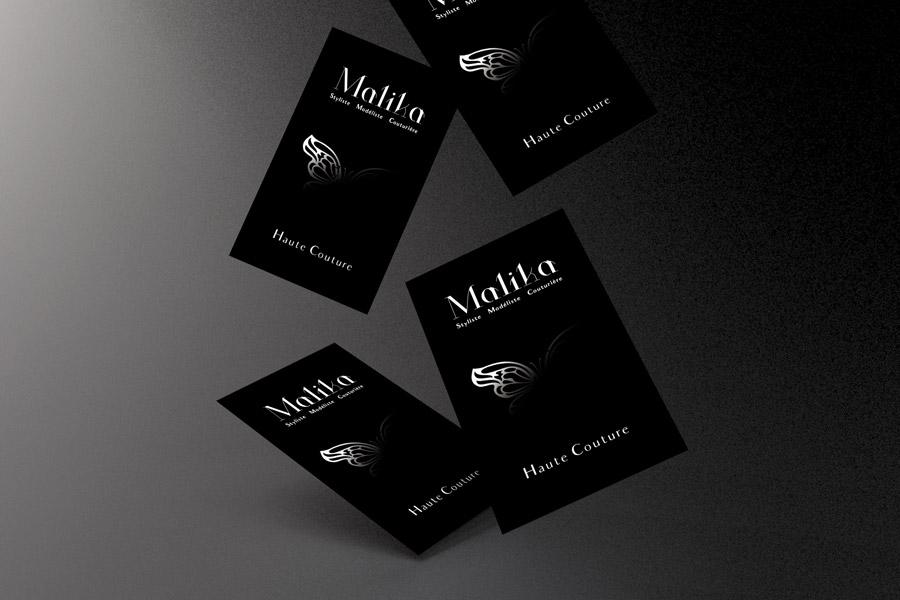CARTE DE VISITE - Malika
